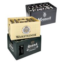 Krat Kornuit, Warsteiner of Brand voor €8,99 bij Dirk en Dekamarkt