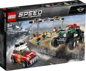 LEGO Speed Champions 1967 Mini Cooper S Rally en 2018 MINI John Cooper Works Buggy (75894) Bol.com