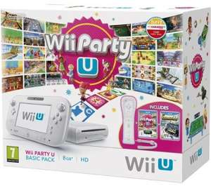 Wii U console 8 GB Basic Pack met WiiMote +2 games voor €186,65 @ Amazon.it
