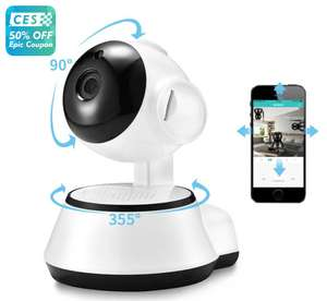 Xiaovv Q6S Smart 360° Panoramic 720P Ip camera