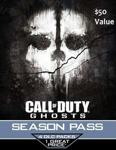 Call of Duty Ghosts Season Pass Download (PS4 & PS3) voor $4,75 @ GameDealDaily