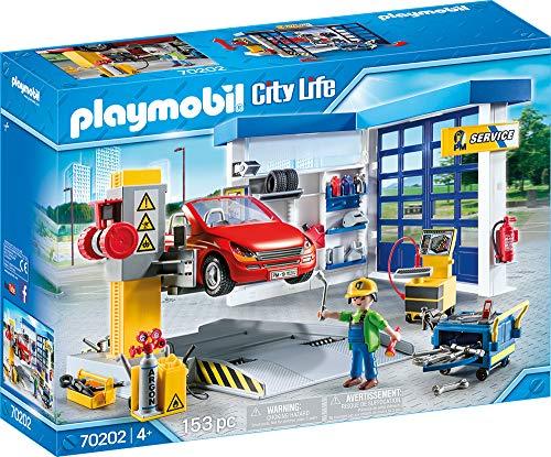 Nu €35.99 Playmobil City Life 70202 Autowerkplaats Gratis bezorging bij Amazon.de