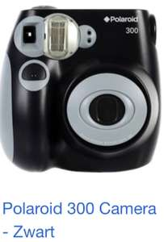 Polaroid 300 Camera bij Trekpleister. [LOKAAL] Veenendaal