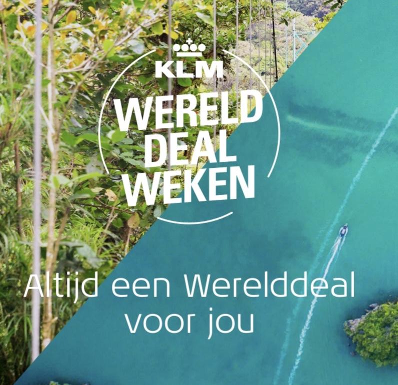 KLM Werelddealweken 9 januari