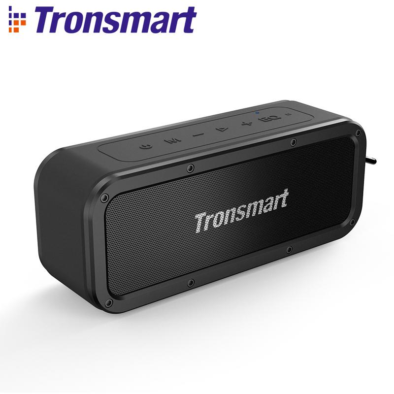 Tronsmart Element Force + Draadloze Bluetooth 40 W Speaker TWS HIFI IPX7 Waterdichte ondersteuning NFC TF AUX