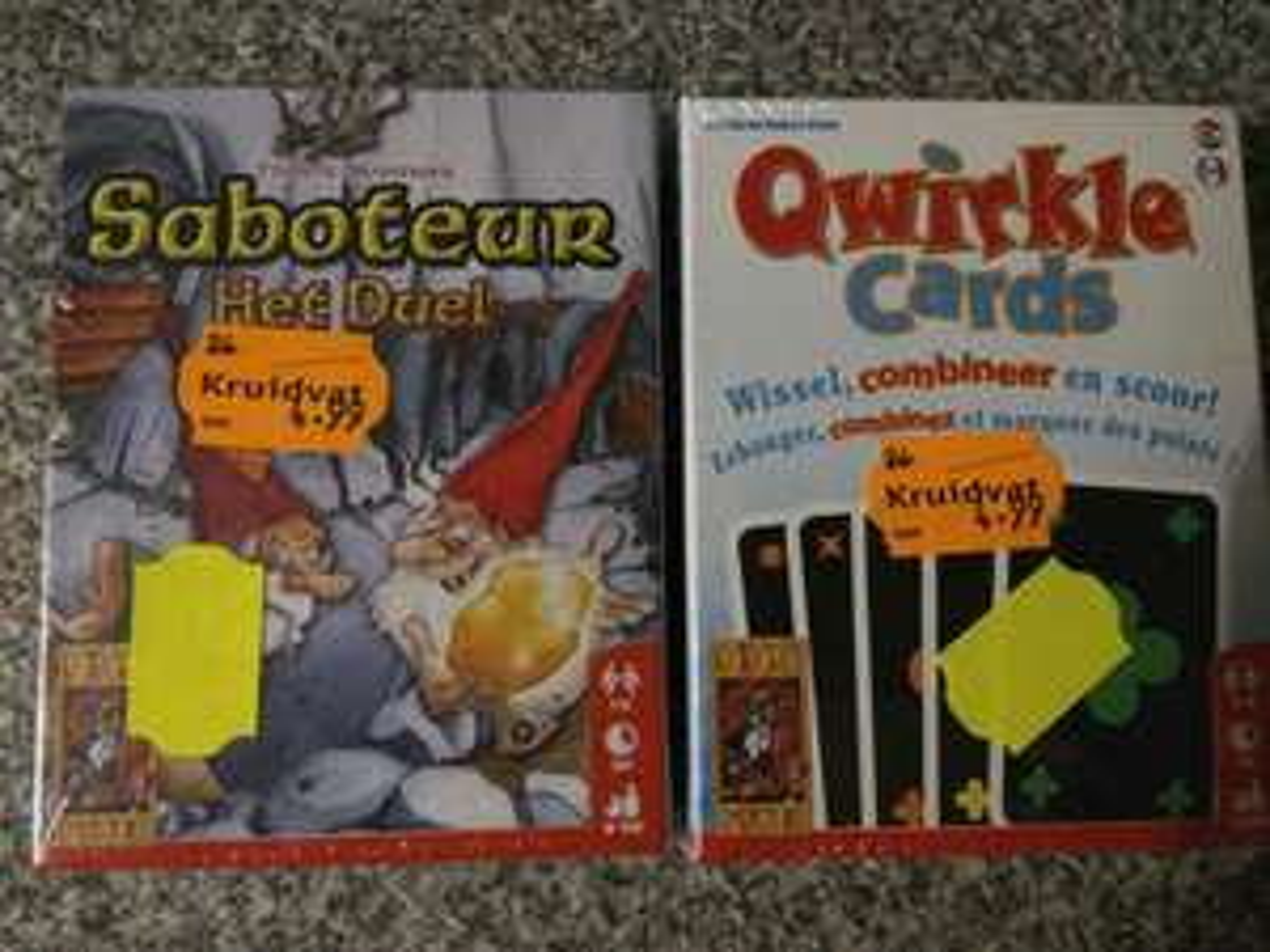 [Lokaal?] Qwirkle Cards en Saboteur, Het Duel €2,50 @Kruidvat