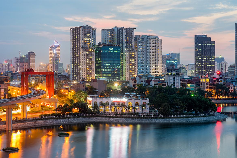 Hanoi Vietnam voor 282 euro! inclusief ruimbagage!