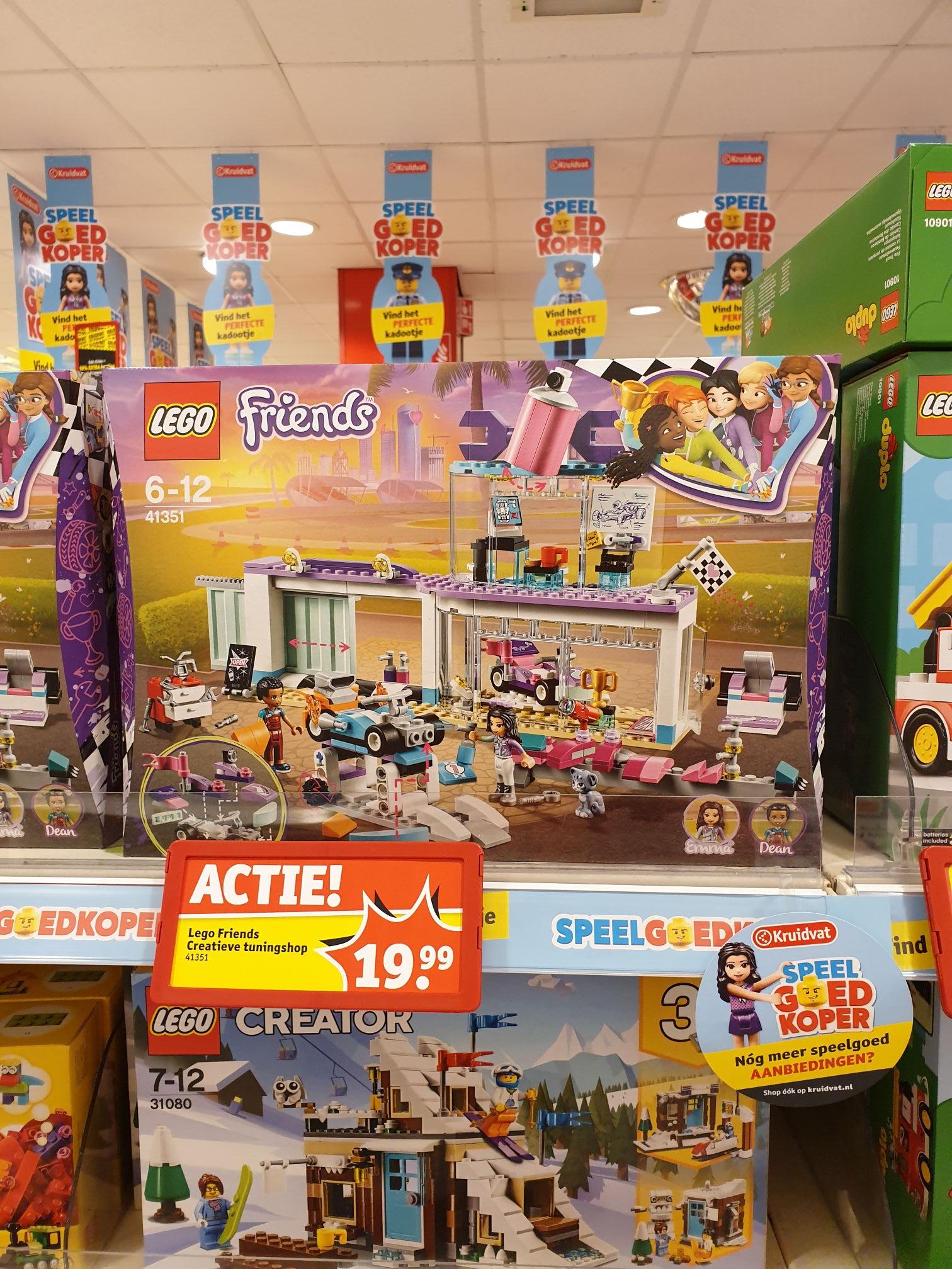 Kruidvat: LEGO Friends 41351 Creatieve Tuningshop LEGO FRIENDS 41351 CREATIEVE TUNINGSHOP