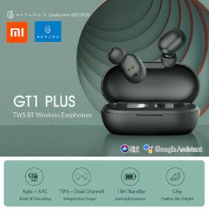 Xiaomi Haylou GT1 Plus TWS Draadloze oordopjes Bluetooth 5.0 + ondersteuning met Siri & Google