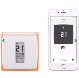 Netatmo kamerthermostaat € 125,- @ Coolblue. Elders vanaf € 153