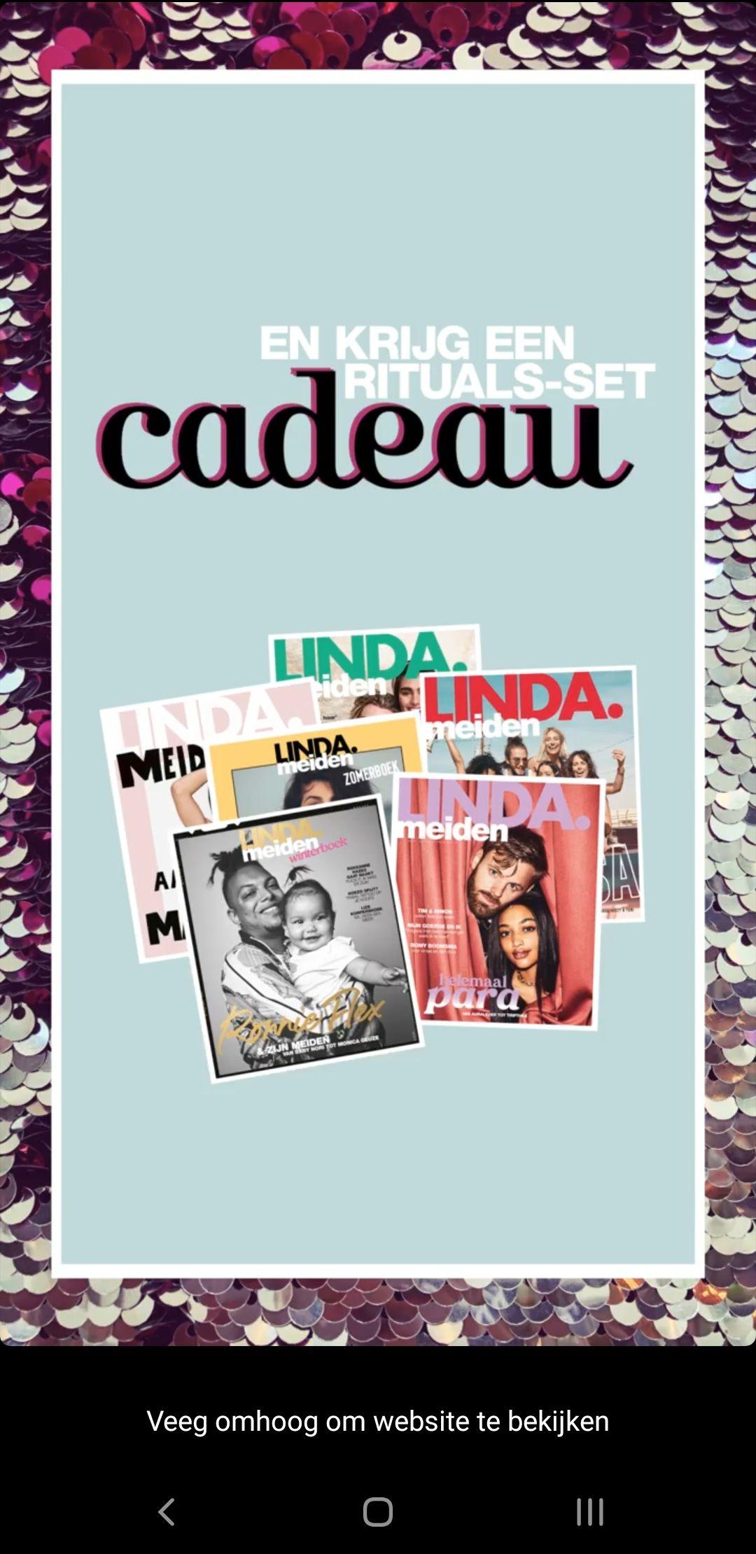 6x Linda.Meiden inclusief Ritual of Holi pakket (twv €48,10)
