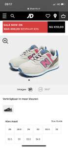 New Balance bij JD sports