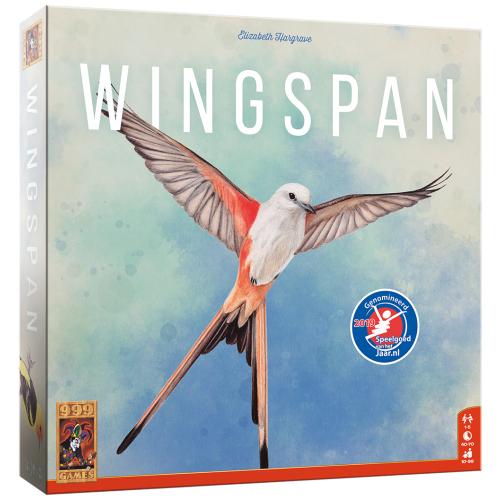 Bordspel Wingspan is terug bij 999 games (kan tessa/thuisbezorgd voucher gebruiken)