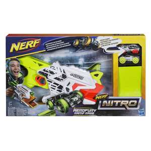 NERF Nitro Aerofury Ramp Rage set voor €9,98 @ intertoys