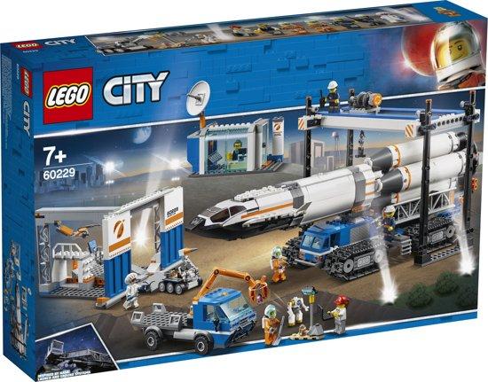 LEGO City Ruimtevaart Raket Bouwen en Transporteren - 60229