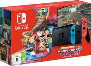 (Grens aanbieding) Nintendo Switch, inkl. Mario Kart 8 Deluxe (Download-Code)