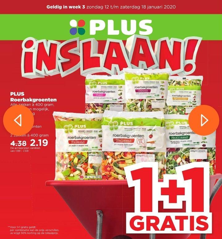 Het is nog een week inslaan bij de plus! Veel producten 1+1 gratis! O.a innocent en bavaria @plus