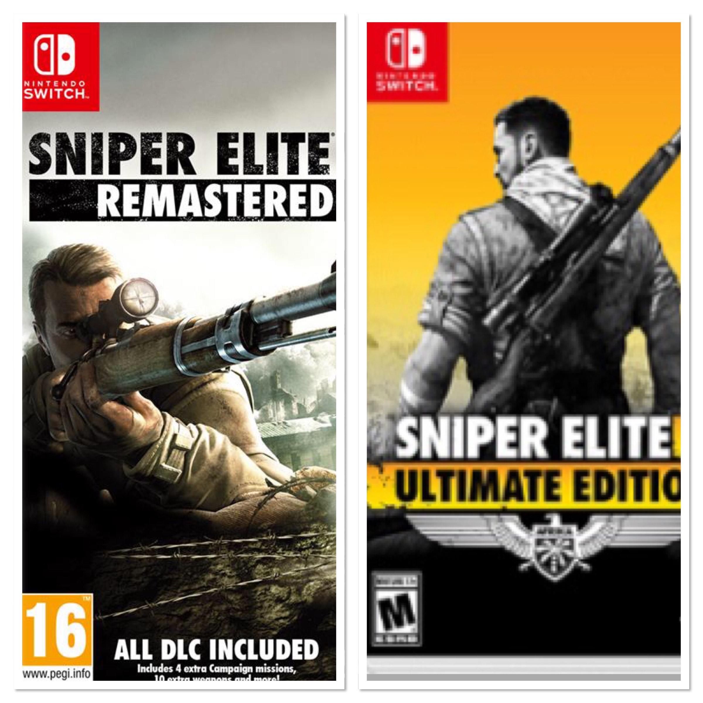 Nintendo Switch - Sniper elite 2 en 3 remastered