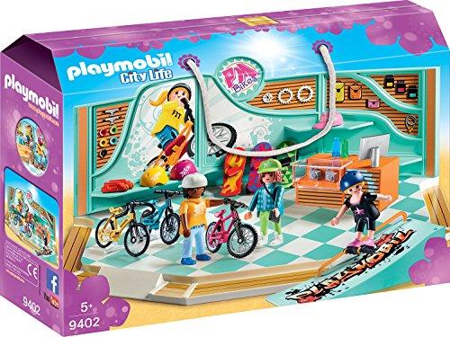 Playmobil Fiets en Skate winkel 9402 €14.99 bij Amazon.de Gratis verzending naar afhaalpunt