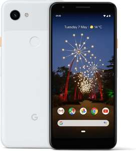 Google Pixel 3a XL 'clearly white' ( €399,- bij Bol.com)