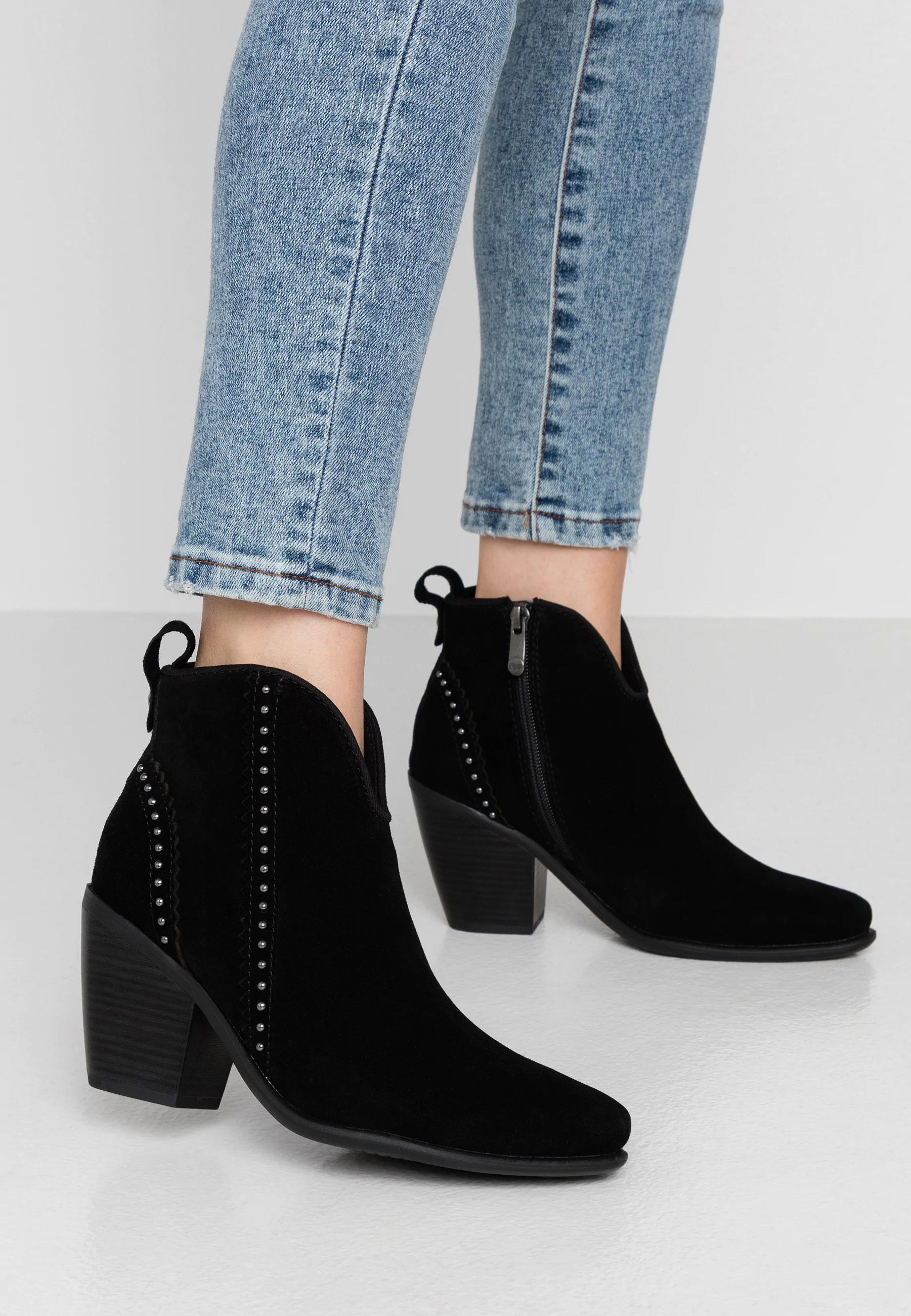 Suède cowboy enkelboots -60% @ Zalando