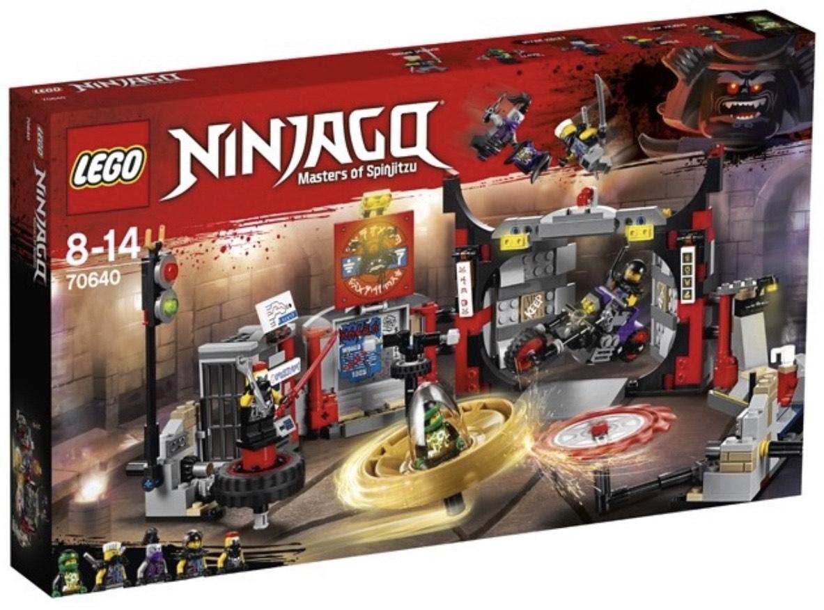 Lego 70640 - Ninjago S.O.G. Hoofdkwartier (Laagste prijs ooit & retiring)