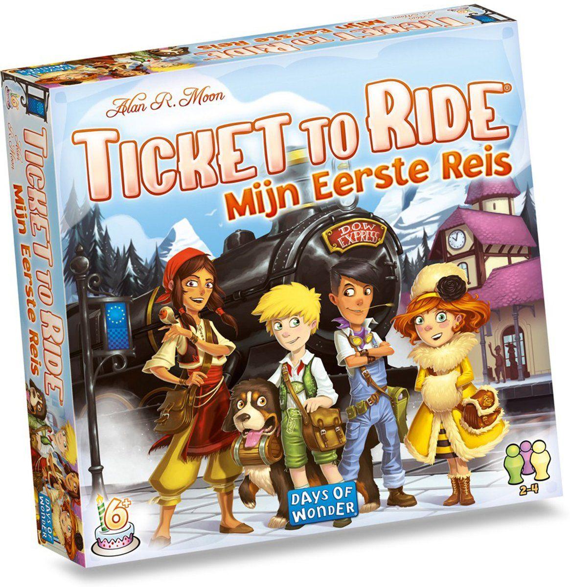 [Nu €17,39] Ticket to ride: Mijn eerste reis (ticket to ride junior) @bol.com