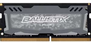 Crucial Ballistix Sport LT 16GB Notebook (2666MHz, DDR4, DRAM) @Amazon.de