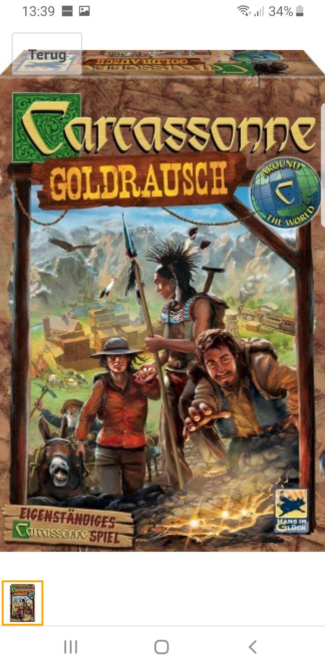 Carcassonne Goldrausch / Goudkoorts