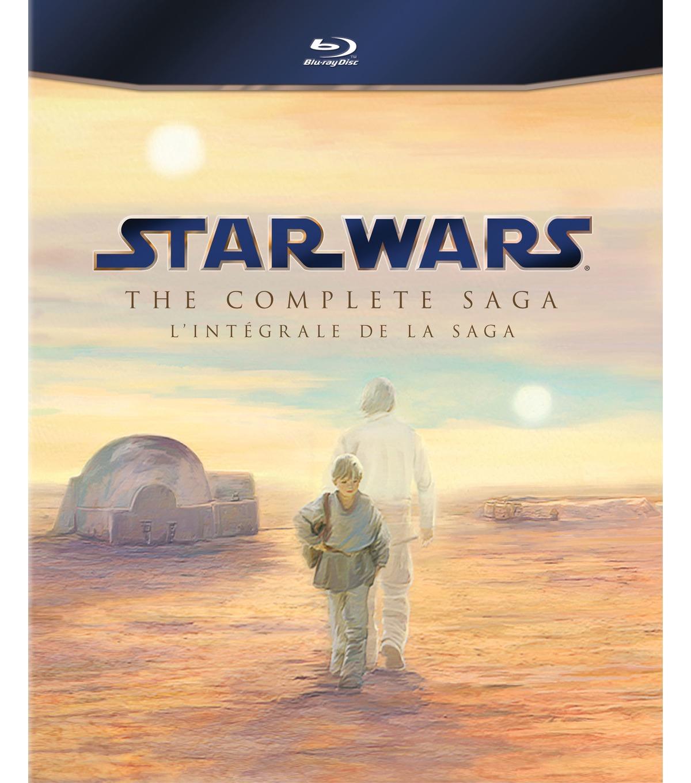 Star Wars: the complete saga BLU-RAY voor 49,99 @ V&D