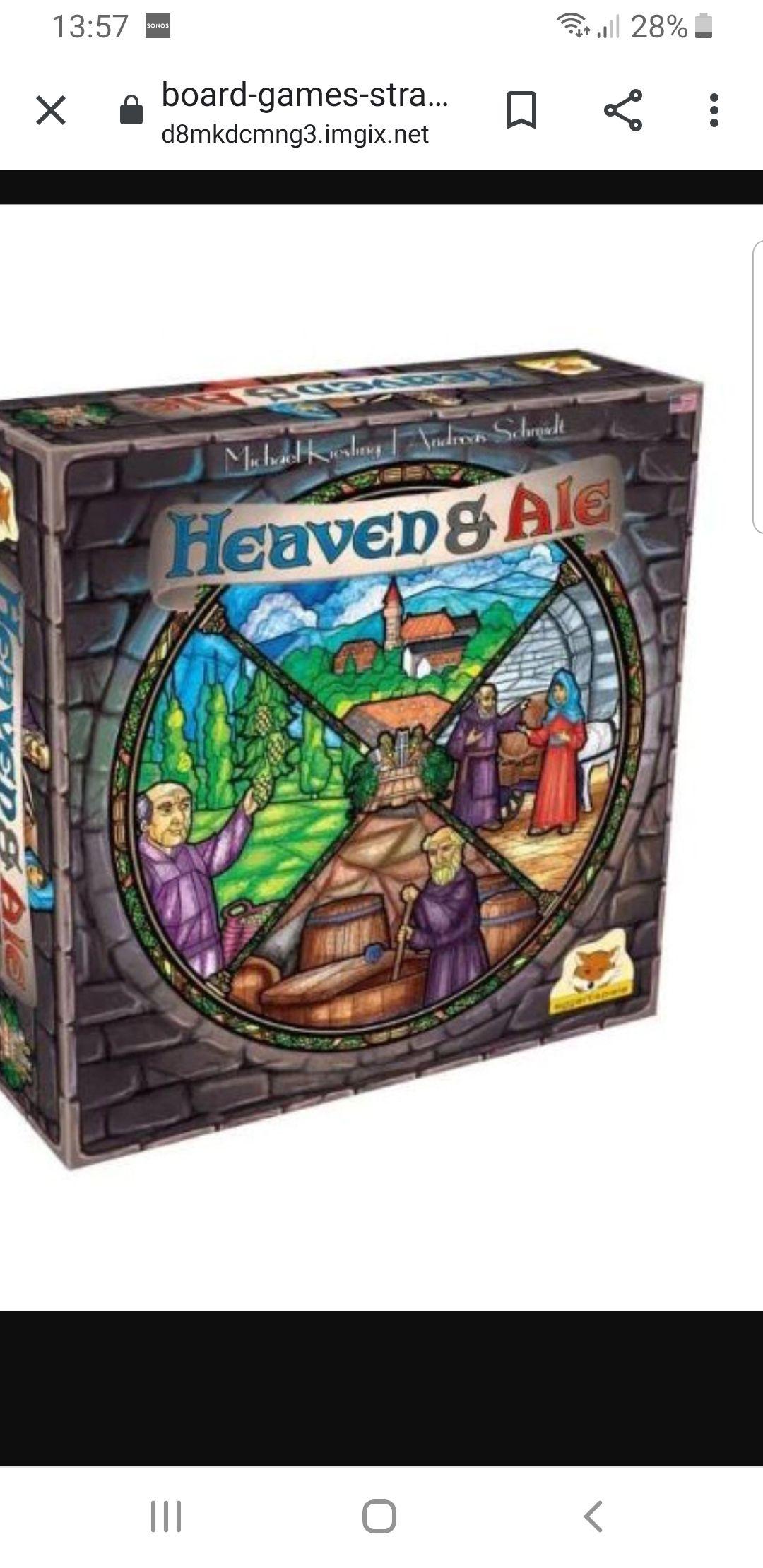 Heaven and Ale bordspel