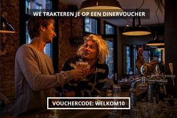 Gratis Dinervoucher t.w.v. €10 (geen minimale besteding) @ Couverts