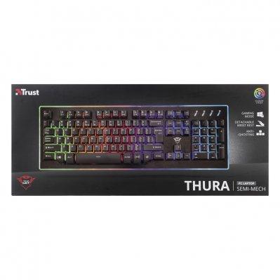Trust Mechanisch Gaming toetsenbord GXT860 voor €25,- @Albert Heijn