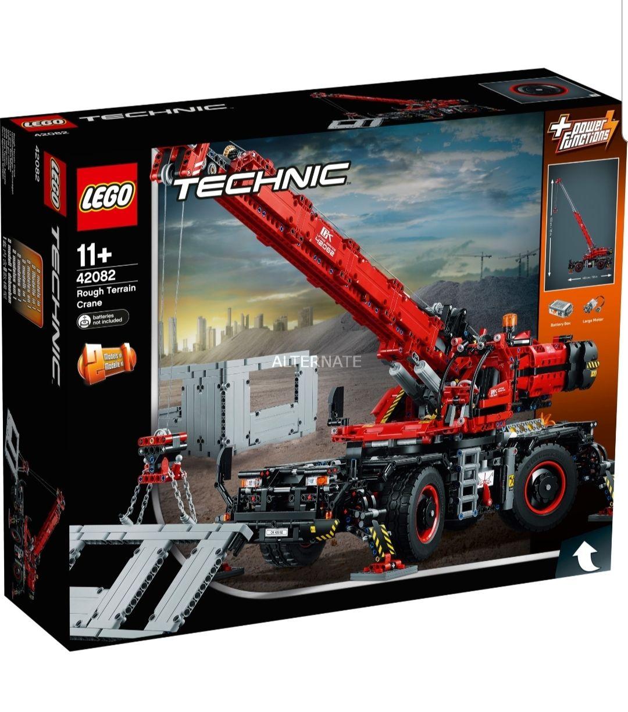 Lego 42082 rough terrain crane nu voor 129 euro normaal rond de 160 euro
