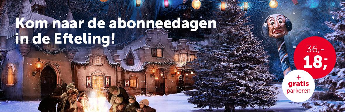 Winter Efteling Tickets voor €18,- per persoon + gratis parkeren @ Gelderlander