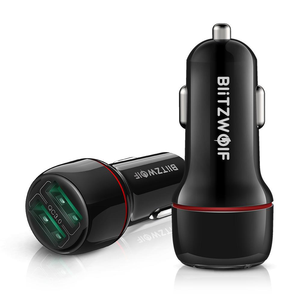 Blitzwolf BW-SD5 QC 3.0 Dual Port Car Charger