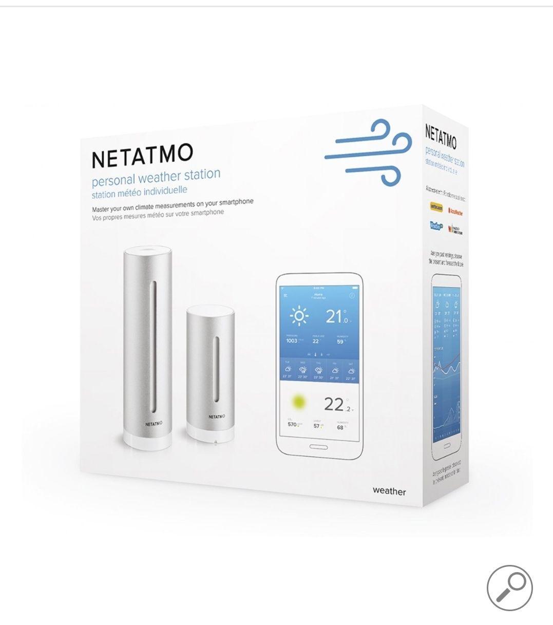 Netatmo Slim Weerstation