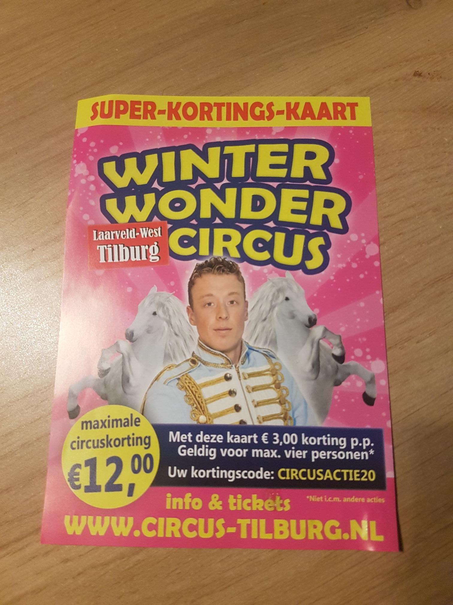 Winter Wonder Circus Laarveld Tilburg (korting online)