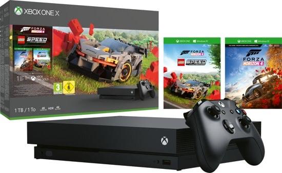 Xbox One X Console 1 TB + Forza Horizon 4