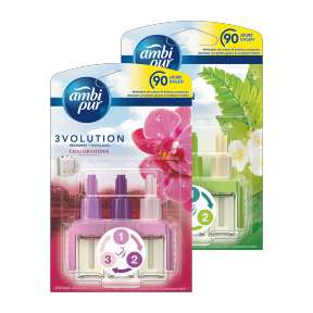 [Aldi] Ambi pur 3volution Thai Orchidee of Ochtenddauw navulling