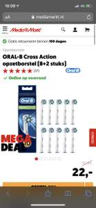 Oral B Cross Action opzetborstels 10 x