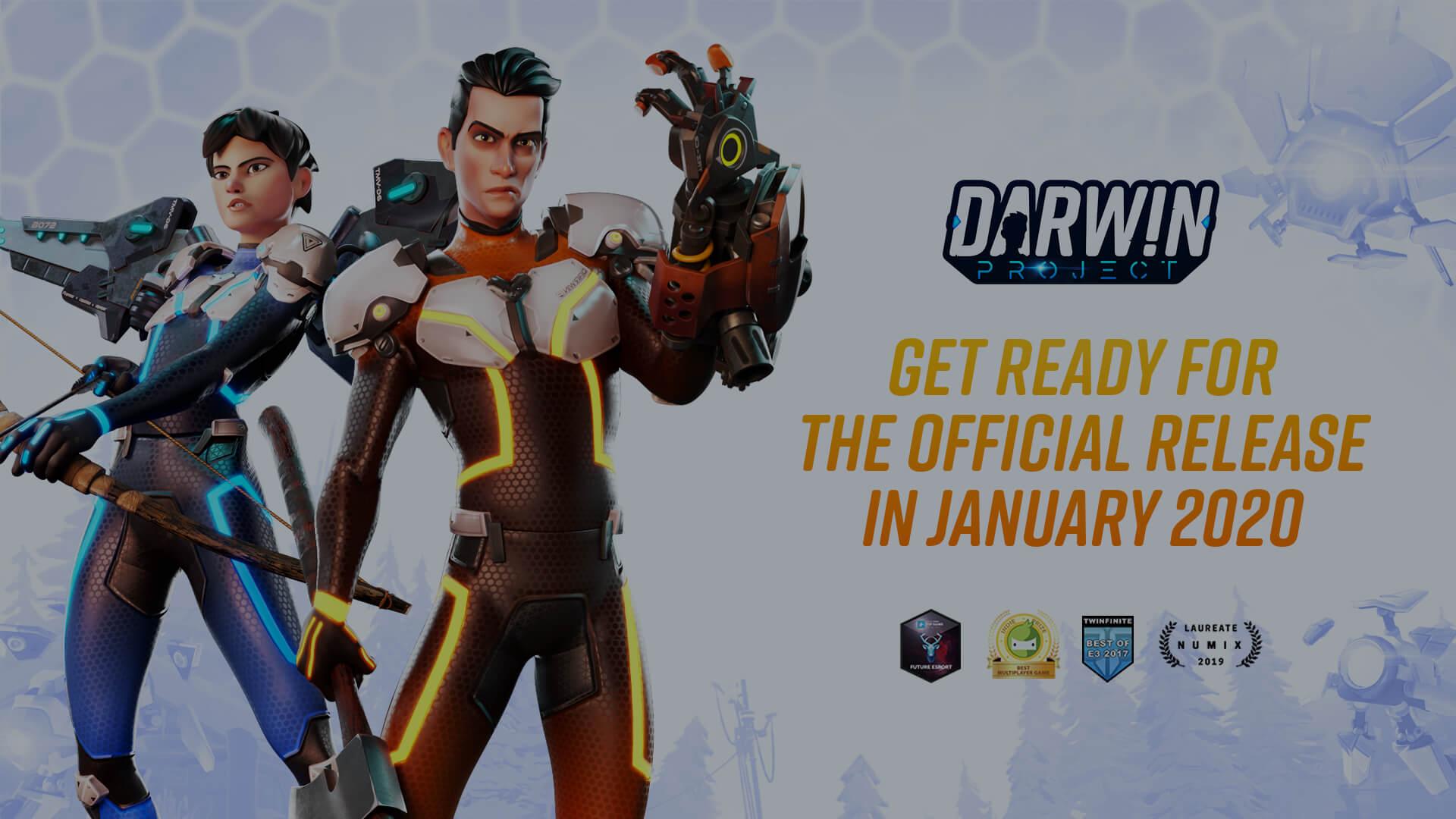 Darwin Project volledige release vanaf vandaag gratis voor PS4, Xbox One en PC.