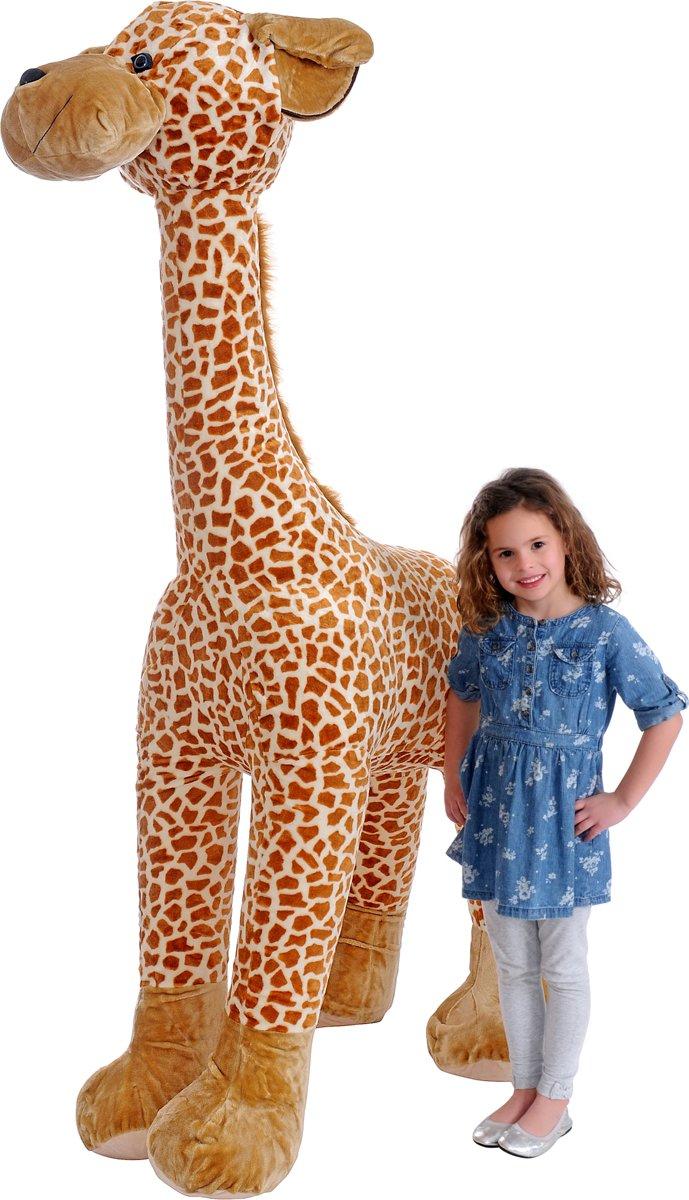 Iplush Plushe Opblaasbare Giraffe (180 cm) voor €25,99 @ Bol.com