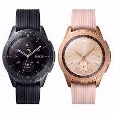 Samsung Galaxy Watch 42 mm Zwart & Rosé