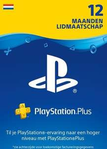 PlayStation Plus 12 maanden NL (digitale code) @ Eneba