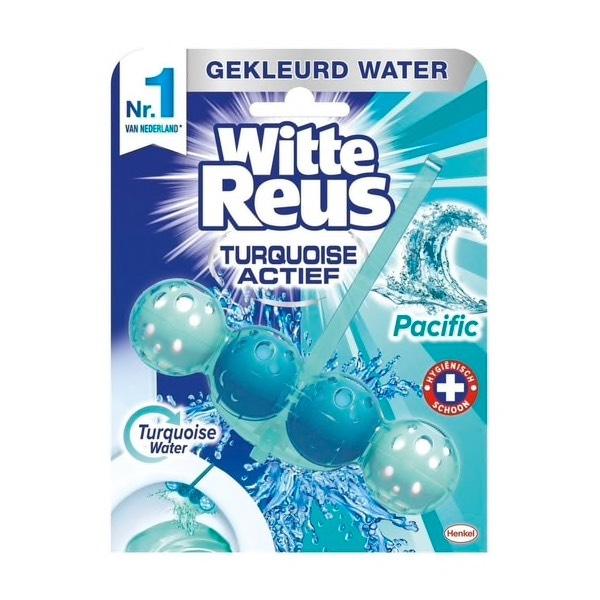 Gratis witte reus wc gel bij aankoop 10x wcblok + extra korting