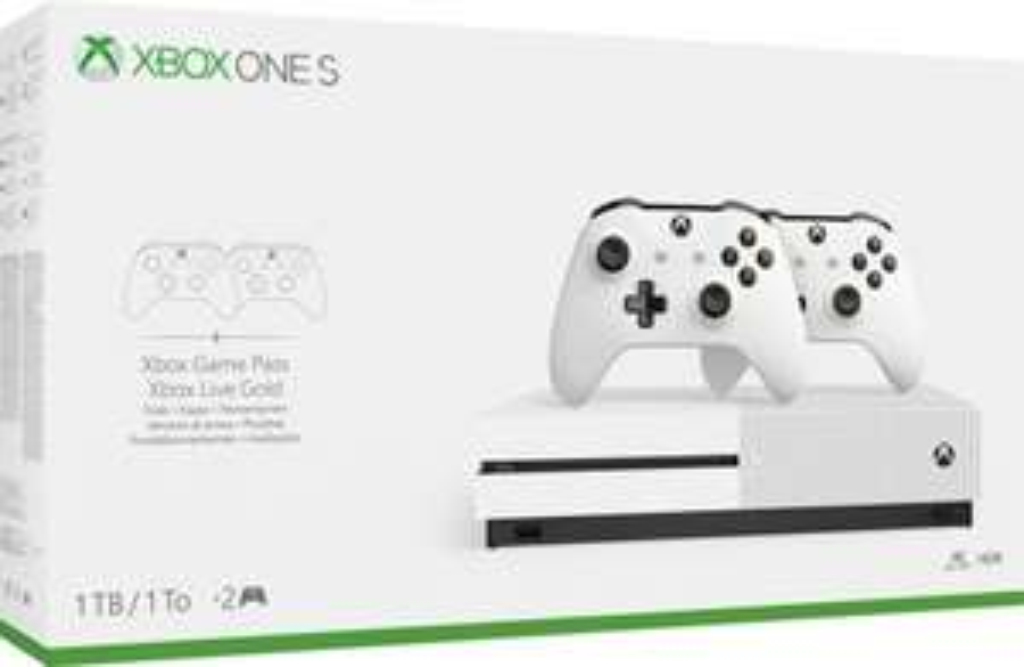 Microsoft Xbox One S 1TB +2 wireless controllers Wit @ Directsale