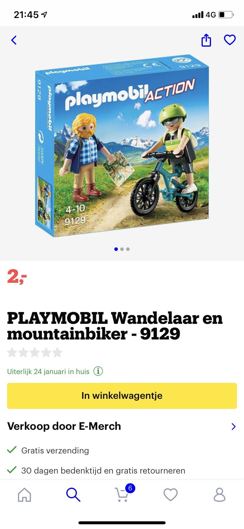 PlayMobil voor €2