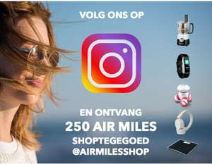 250 airmiles shoptegoed (korting) in de Airmilesshop
