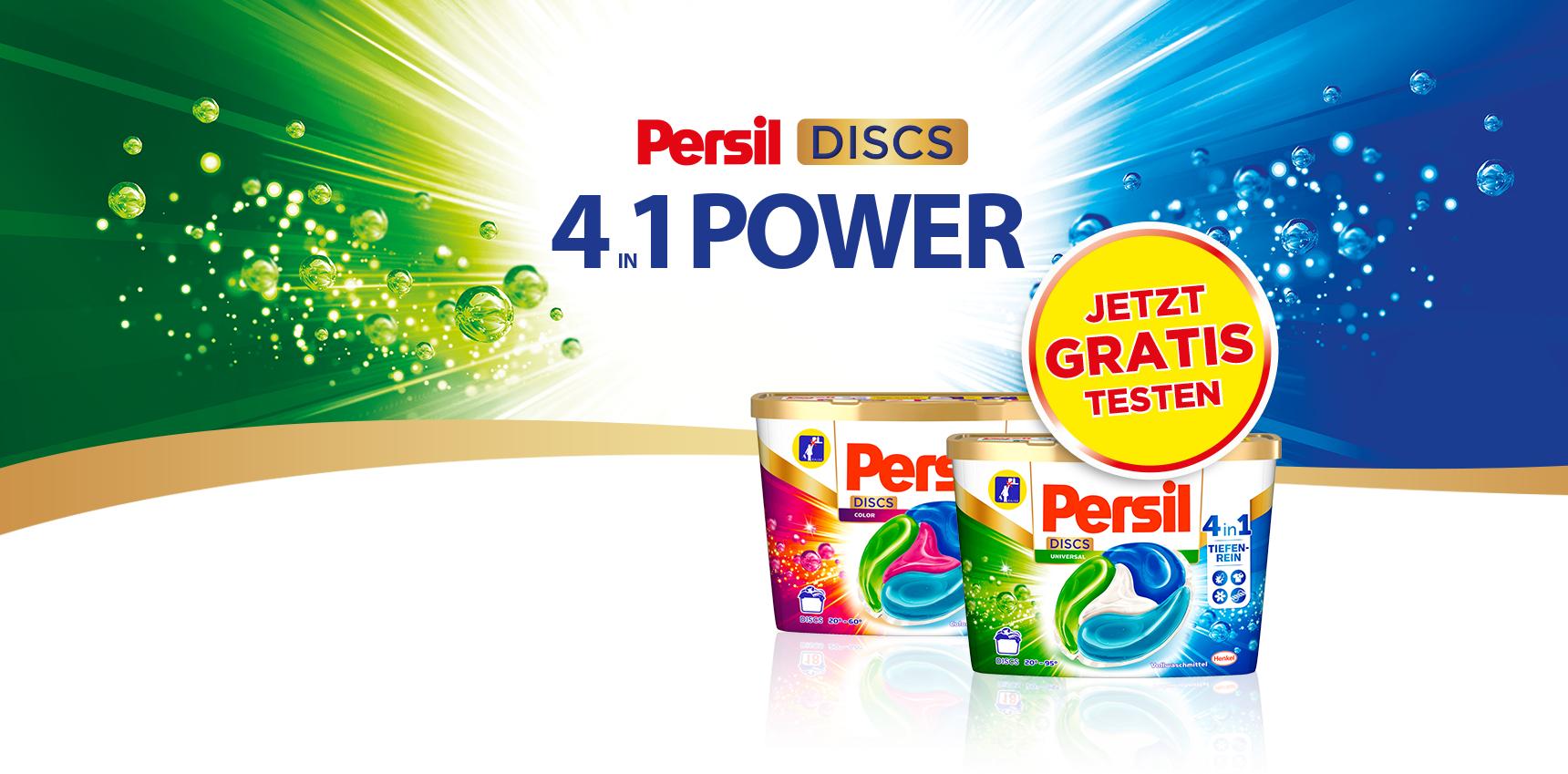 Grens-deal Duitsland - Gratis PERSIL discs 4in1